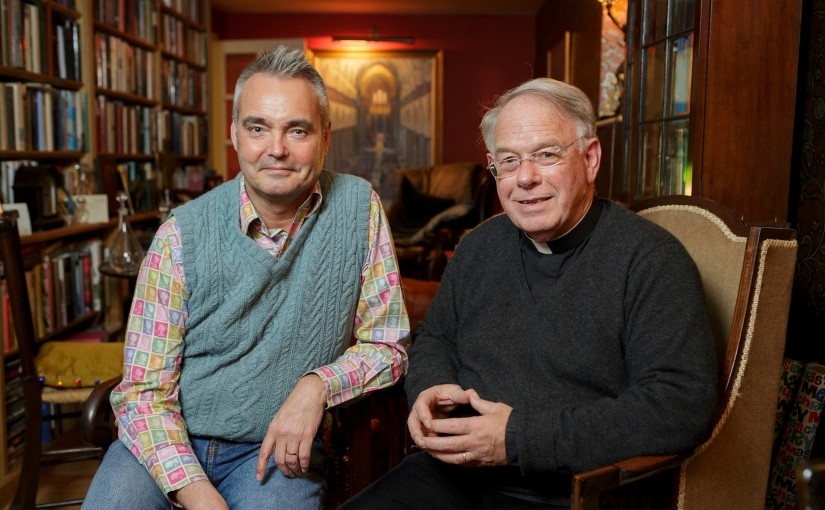 Married gay priest Jeremy Davies: 'The bishops say we're not modelling teachings of the church. Yes we are'